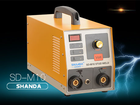 Energy storage type stud welding machine